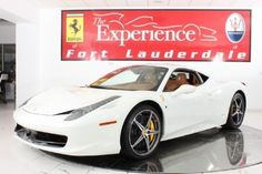 Ferrari 458 ITALIA BERLINETTA $ 299,900 for Sale in Fort Lauderdale, Florida Classified | AmericanListed.com