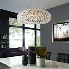 Foscarini Caboche Medium LED dimbaar Hanglamp wit by Foscarini in Hanglampen - Binnenverlichting