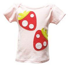 """Decaf Plush """"Red Berries"""" Bodysuit or T-Shirt"""