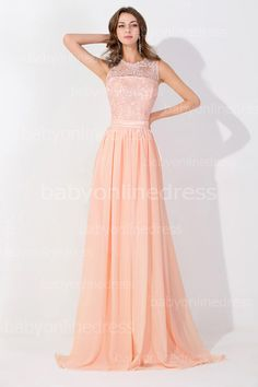 Online Shopping Peach Pink Long High Neck Cheap Prom Dresses 2015 Lace Real Image Backless Sheer Long Evening Gowns In Stock Bridesmaid Dress BZP0530 103.36   m.dhgate.com