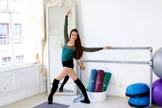 We asked Miranda Kerr's trainer, Mary Helen Bowers, a professional dancer and creator of the Ballet Beautiful workout, to show us the way with these 10 moves for a ballerina body.