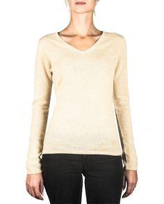 Damen Kaschmir Pullover V-Ausschnitt camel front Elegant, Tops, Sweaters, Fashion, Cashmere Sweaters, Women's, Classy, Moda, Chic