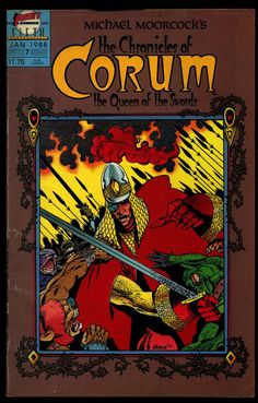 Chronicles of CORUM #7 Queen of Swords Michael Moorcock Mike Baron Butch Guice Sword & Sorcery Magick Fantasy Comic Book