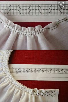 Smocking Tutorial, Smocking Patterns, Sewing Patterns, Sewing Hacks, Sewing Tutorials, Sewing Crafts, Techniques Couture, Sewing Techniques, Hand Embroidery Stitches