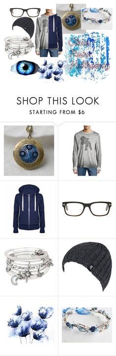 """""""Akio Rose Hathaway"""" by tmntwolfie ❤ liked on Polyvore featuring PRPS, Tom Ford, Alex and Ani, Heat Holders, men's fashion, menswear, roleplay and harrypotteroc"""