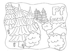 Enjoy your free Nature Alphabet Coloring Page Letter R