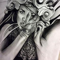 Working on this piece for an upcoming project!! Little sneak peek.. #tattoo #spooky #thebeautifulstruggle #marinamendes #detail #art #artist #artofvisuals #artgallery #artcollective #artsanity #artnerd #arts_help #blvdart #spotlightonartists #sketch_daily #artistdrop #artist_features #proartists #create #blackandgrey #pencil #worldofpencils #graphite