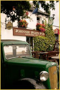 Johnnie Fox's Pub. Glencullen, Co. Dublin, Ireland.