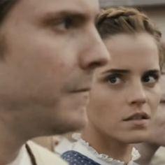 Pin for Later: Emma Watson und Daniel Brühl machen sich ganz gut als Paar vor der Kamera