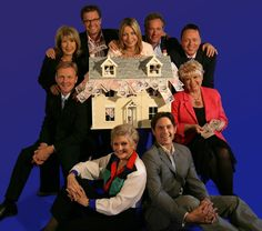 John Cameron with fellow Cash in the Attic presenters