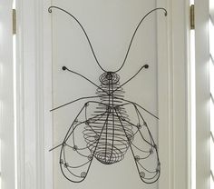 could totally make this wire bug with students - great way to learn about bug bodies