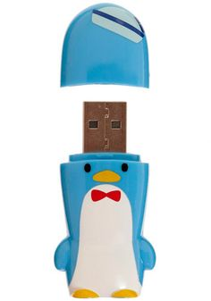 This is too cute! A portable flash drive is always a good idea. Especially if it's a penguin!