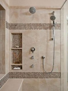 Superior Awesome Shower Tile Ideas Make Perfect Bathroom Designs Always : Beautiful  Showe By Kimara