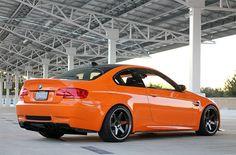 Orange BMW M3 Sex0r
