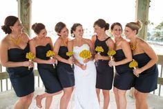 Nautical Wedding Bridal Party Inspiration