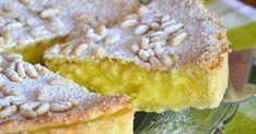 Torta della nonna con crema al limone- Gramma's Lemon Cream Tort! 13 Desserts, Italian Desserts, Italian Recipes, Delicious Desserts, Italian Entrees, Sweet Recipes, Cake Recipes, Dessert Recipes, Good Food