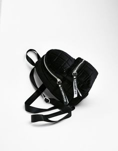 Bershka United States online fashion for women and men - Buy the latest trends Cute Mini Backpacks, Stylish Backpacks, Girl Backpacks, Luxury Purses, Luxury Bags, Fashion Bags, Fashion Backpack, Monkey Bag, Mini Mochila