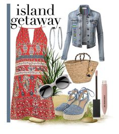 """""""Chic Island Getaway"""" by madcar-2013 ❤ liked on Polyvore featuring Band of Gypsies, Michael Kors, NLY Accessories, Ace, Burberry and Mattia Cielo"""