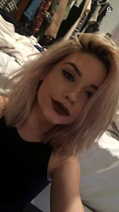"""{faceclaim: amanda steele} """"hey, I'm jade. Ik 18, single, but you know I'm always looking"""" I smirk """"at school I guess you could call me the 'badgirl' and I'm the exact same outside of school."""" I wink"""