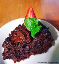 Vegaaninen tahmea suklaakakku Steak, Beef, Desserts, Food, Meat, Tailgate Desserts, Deserts, Essen, Steaks