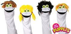 Sock Friends™ Puppets: Puppet Wig Patterns