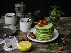 Pancakes agli spinaci