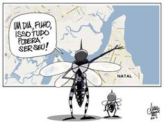Sorriso Pensante-Ivan Cabral - charges e cartuns: Charge do dia: Dengue se alastra