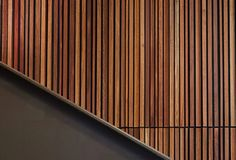 The descriptions on this page are designed to help you understand how your Sculptform timber will look, and avoid any unexpected surprises. Timber Battens, Timber Walls, Red Oak, White Oak, Timber Feature Wall, Tongue And Groove Cladding, Brown Spots, Display, Design