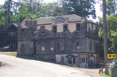 Olympia Hotel in Callicoon, NY. by rchrdcnnnghm, via Flickr