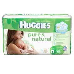 Huggies Pure & Natural Diapers  #bigbabybasketsweeps
