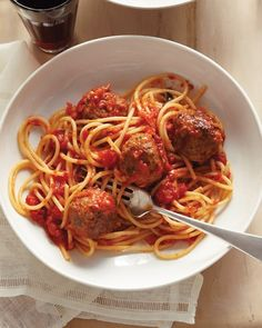 Classic Meatballs  With a savory blend of ground beef chuck and ground pork, flavorful cheese, and garlic, these meatballs are sure to be an instant favorite. The meatballs can be cooked in a flavorful tomato sauce and served with spaghetti or enjoyed on their own.  Get the Classic Meatballs Recipe