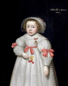 It's About Time: Mostly English & Dutch Children in 1620-1650 - All clothed in starched whites