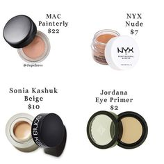 Eyeshadow Base Primer Eye Makeup Brands Best Products Beauty Dupes