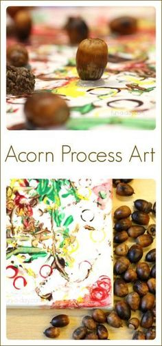 Acorn Process Art - Fun Fall Art for Kids to Create