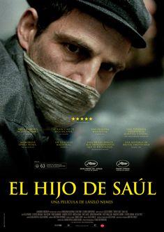 """DVD. Adultos. """"El hijo de Saúl"""". Disponible en Biblioteca de La Estación."""