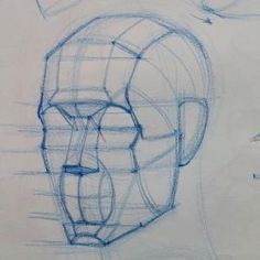 Keene Wilson - Page - Current Watercolor Workout Class Homework Anatomy Sketches, Anatomy Drawing, Anatomy Art, Art Drawings Sketches, Sketch Drawing, Anatomy Of The Face, Sketch Head, Hand Drawings, Drawing Art