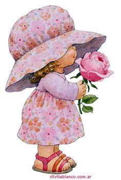 Las Nubes GABRIELA MISTRAL Cartoon Kids, Girl Cartoon, Cartoon Drawings, Cute Drawings, Cute Images, Cute Pictures, Sarah Key, Cute Kids Pics, Watercolor Kit