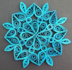 Monica's Quilling: Suport de pahar / Decoratiune
