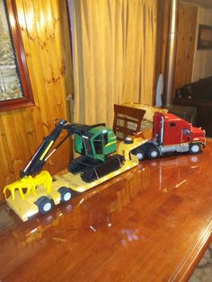 Trailers, Wood Projects, Scale, Carving, Wood, Trucks, Miniatures, Weighing Scale, Hang Tags