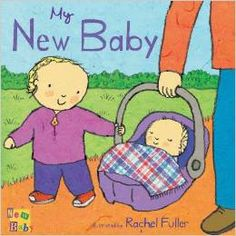 #Children's_Stories. My new baby. There is so much to find out when a baby is born! What does it smell like, and when will it walk? When does it sleep, and what does it like to eat? A new addition to any family is exciting, but the experience can also be worrying and confusing for siblings. Coping with the new situations and emotions that arise can be very challenging. This series of four board books deals with the anticipation of waiting for the new baby...