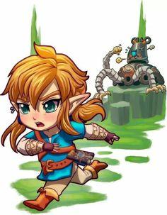 Run Link, RUN! XD