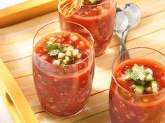 Fire-Roasted Tomato Gazpacho