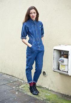 Vintage denim jumpsuit from Mint, £65