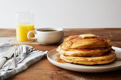 "Rosa Parks' ""Featherlite"" Peanut Butter Pancakes on Food52"
