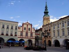 Česko, Nový Jičín - Náměstí