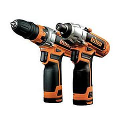The Triton 12V Twin Pack includes the T12DD Drill Driver and T12ID Impact Driver. Both drivers are equipped with the latest Mabuchi motor and all-metal gearing to deliver greater efficiency of power transmission and superior durability. The lightweight, compact design and over-moulded grip delivers greater comfort, reduces fatigue during repetitive work, and makes both drivers perfect for working within confined spaces. The T12DD 12V Cordless Drill Driver features a 10mm / 38-inch remova...