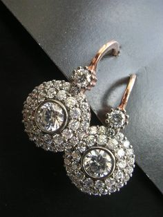 "Really lovely earrings with a vintage feel, I like that they're called ""Miriam""."