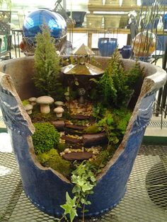.You'll never have to throw away a broken pot again! Create your own fairy/gnome garden at your pleasure.