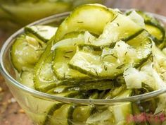 Przetwory na zimę: mizeria w słoikach Celery, Pickles, Cucumber, Potato Salad, Cabbage, Food And Drink, Potatoes, Vegetables, Ethnic Recipes