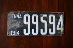 Hey, I found this really awesome Etsy listing at https://www.etsy.com/listing/230181400/vintage-1914-pennslyvania-license-plate